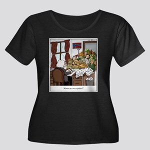 Grieg in Trouble Plus Size T-Shirt