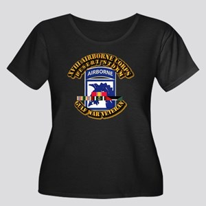 Army - DS - XVIII ABN CORPS - w DS Women's Plus Si