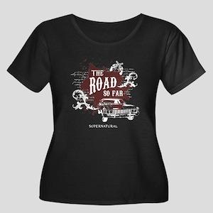 SUPERNATURAL The Road Women's Plus Size Scoop Neck