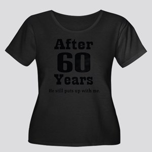 60th Anniversary Funny Quote Plus Size T-Shirt