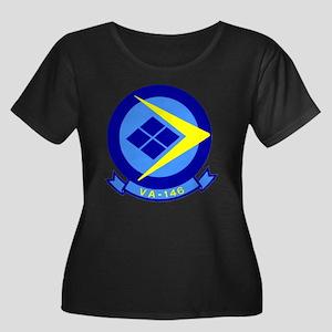 VFA-146 Women's Plus Size Scoop Neck T-Shirt