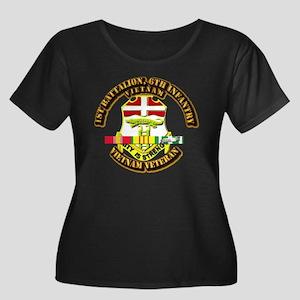 1st Battalion, 6th Infantry Women's Plus Size Scoo