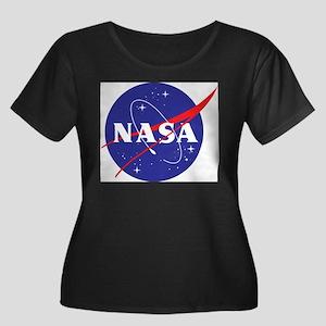NASA Logo Plus Size T-Shirt