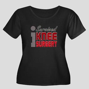 isurvived-kneesurgery Plus Size T-Shirt