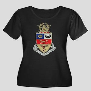 Kappa Ps Women's Plus Size Scoop Neck Dark T-Shirt