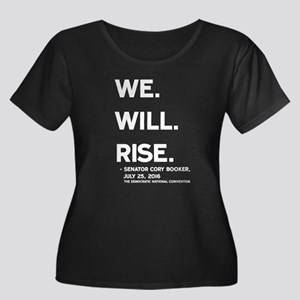 We. Will. Rise. Plus Size T-Shirt