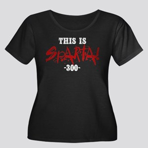 300 This Is Sparta Plus Size T-Shirt