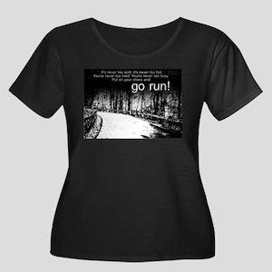 Go Run Plus Size T-Shirt