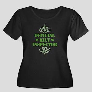 Official Kilt Inspector Women's Plus Size Scoop Ne
