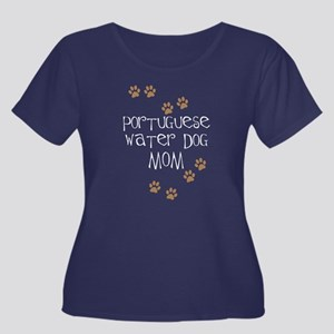 Portuguese Water Dog Mom Plus Size T-Shirt