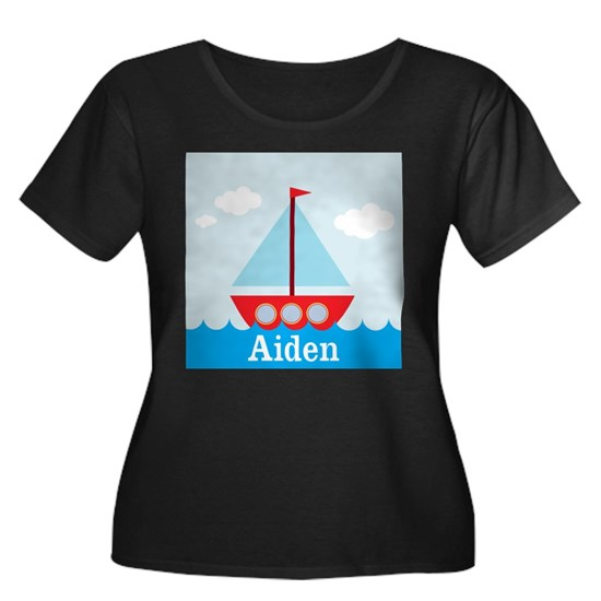 Personalizable Sailboat in the Sea