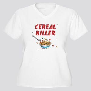 Breakfast Cereal Killer Plus Size T-Shirt