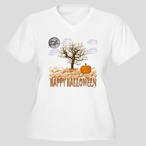 Happy Halloween Plus Size T-Shirt