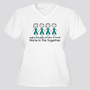 We're In This Together (Ovarian) Women's Plus Size