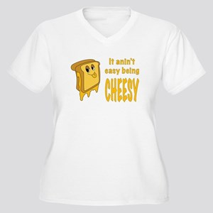Being Cheesy Plus Size T-Shirt