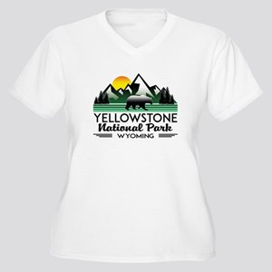 YELLOWSTONE NATIONAL PARK WYOMIN Plus Size T-Shirt
