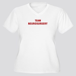Team NEUROSURGERY Women's Plus Size V-Neck T-Shirt
