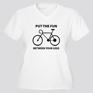 03ccc92276 Put The Fun Between Your Legs Women's Plus Size T-Shirts - CafePress