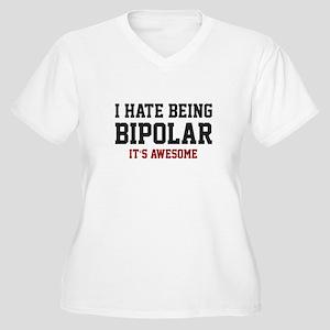 d38fe9994 Funny Bipolar Women's Plus Size T-Shirts - CafePress