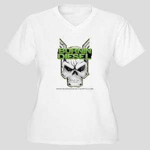 9bc2b780e Diesel Truck Women's Plus Size T-Shirts - CafePress