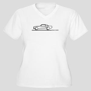 3839e8d02 Mustang Fastback Women's Plus Size T-Shirts - CafePress