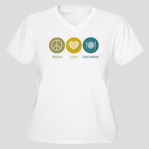 c79ba7af6 Food Service Women's Plus Size T-Shirts - CafePress