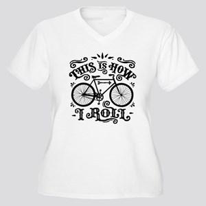 38f89c0fe7 I Love Cycling Women's Plus Size T-Shirts - CafePress