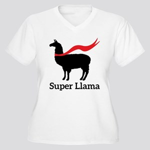 f8613595a Super Llama Women's Plus Size T-Shirts - CafePress