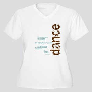 Dance the Rhythm of your Life Plus Size T-Shirt