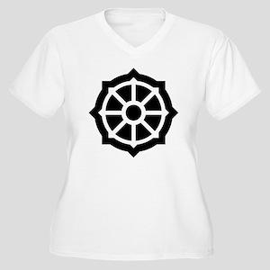 Buddhist Symbol Women's Plus Size T-Shirts - CafePress
