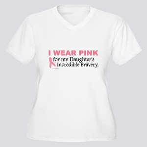 Pink For My Daughter's Bravery 1 Women's Plus Size