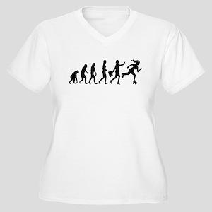 764c9e45d4 Funny Roller Derby Women's Plus Size T-Shirts - CafePress