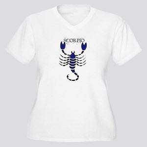 SCORPIO1_B Plus Size T-Shirt