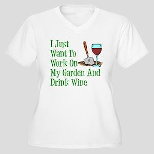 ffe6664f9 Funny Gardening Women's Plus Size T-Shirts - CafePress