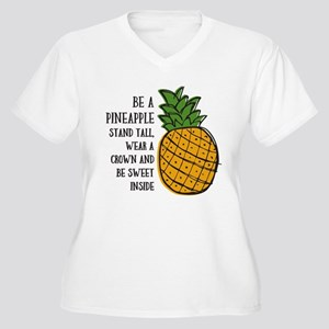 3a3368af Pineapple Women's Plus Size T-Shirts - CafePress