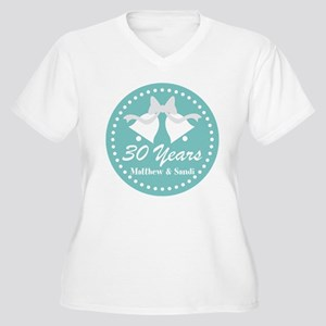 a116b5230 30th Anniversary Personalized Gift Plus Size T-Shi