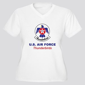 United States Air Women's Plus Size V-Neck T-Shirt