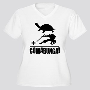cf5c6991 Teenage Mutant Ninja Turtle Women's Plus Size T-Shirts - CafePress