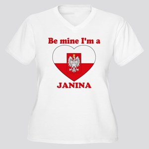 64287aa7 Janina, Valentine's Day Women's Plus Size V-Neck T
