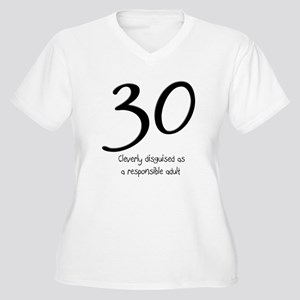 438a886e 30th Birthday Women's Plus Size T-Shirts - CafePress