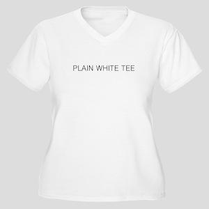 Plain White Women S Plus Size T Shirts Cafepress