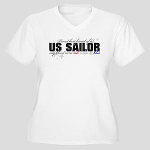 be899023 Navy Best Friend Women's Plus Size T-Shirts - CafePress