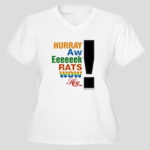 e4e248f78 Exclamation Point Women's Plus Size T-Shirts - CafePress
