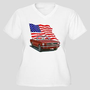 c7cbd4336 Ford Mustang Women's Plus Size T-Shirts - CafePress