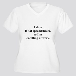 a730a49fc8 Accountant Funny Women's Plus Size T-Shirts - CafePress