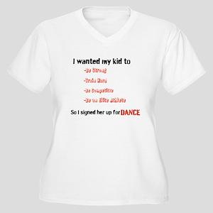 fc79e2a7 Dance Dad Women's Plus Size T-Shirts - CafePress