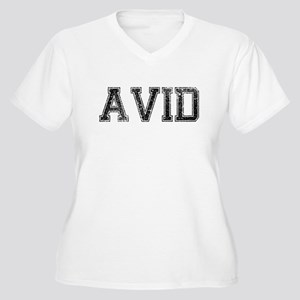 d26ea0f9 AVID, Vintage Women's Plus Size V-Neck T-Shirt