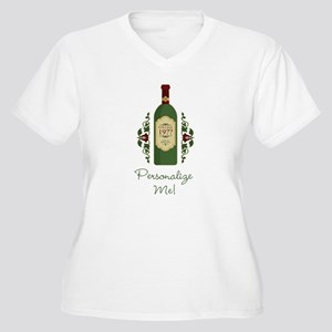 Customizable Birthday Plus Size V-Neck T-Shirt