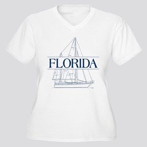 Florida - Women's Plus Size V-Neck T-Shirt