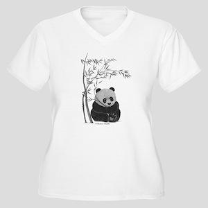 42c2e48d1 Giant Panda Women's Plus Size T-Shirts - CafePress